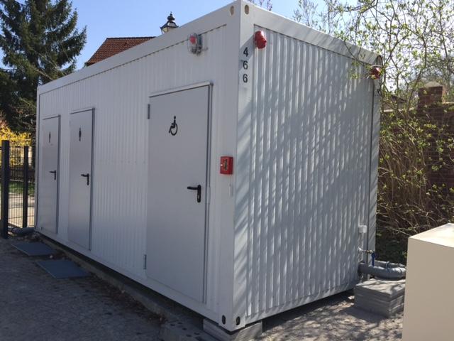 Kontener sanitarny na wynajem - Constal